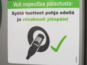 Reciclagem na Finlândia